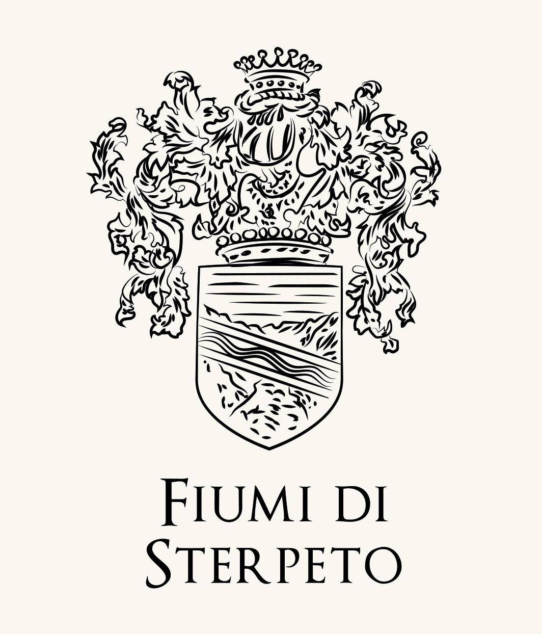 Family crest of Fiumi di Sterpeto, noble umbrian family